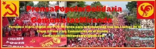PrensaPopularSolidaria ComunistasMiranda